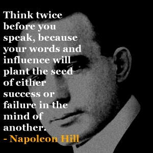 pic of napoleon hill